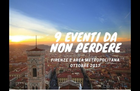 Ottobre 2017, eventi da non perdere