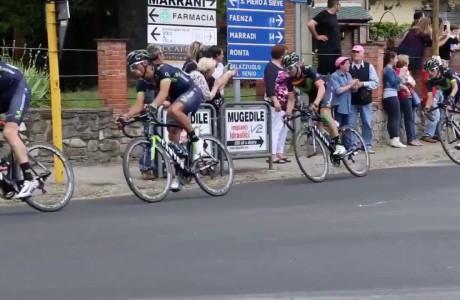 Passaggio nel Mugello per il Giro d'Italia