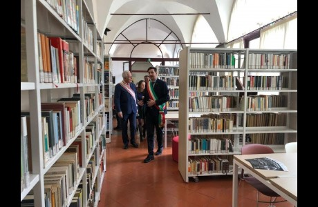 Piano Periferie, inaugurata la biblioteca di San Casciano