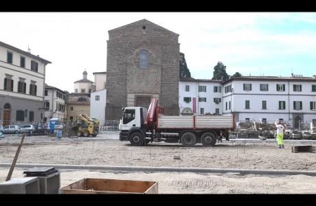 Piazza del Carmine Firenze, ecco come sarà