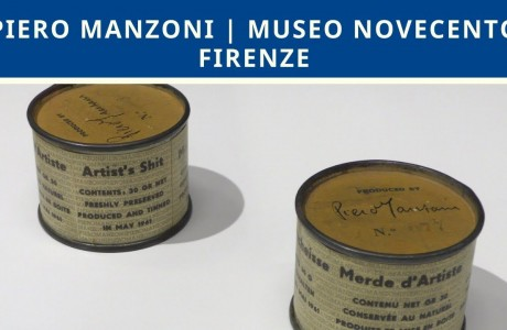 Piero Manzoni al Museo Novecento