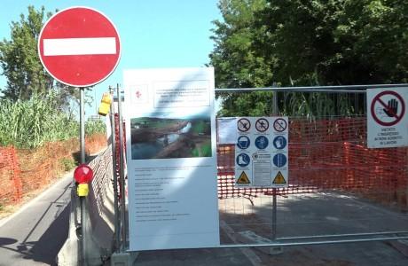 Ponte di Marcignana, aperto il cantiere sulla spalla