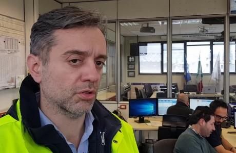 Protezione civile metropolitana, operazioni del 1° marzo 2018