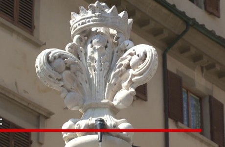 Restaurata la Fontana di Santa Croce