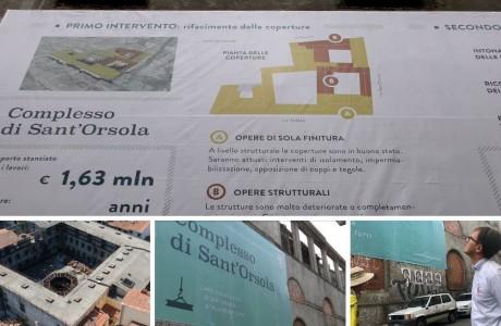 Sant'Orsola Firenze, sopralluogo del Sindaco in zona