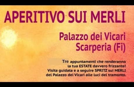 """Scarperia, un """"aperitivo sui merli"""" per gustarsi spritz e Mugello"""