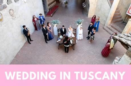 Sposarsi in Toscana: la regione si conferma al primo posto per i matrimoni internazionali
