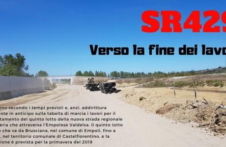 SR 429, i lavori del V lotto termineranno in primavera