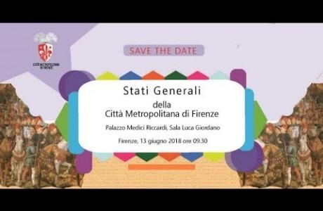 Stati Generali della Città metropolitana di Firenze 2018