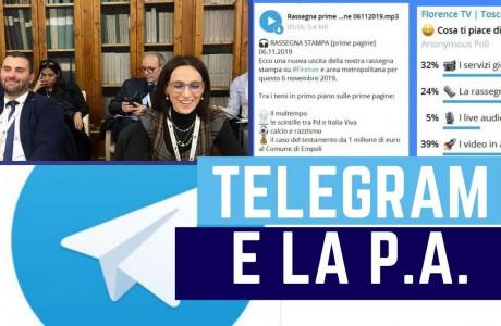 Telegram: come utilizzarla nella Pubblica Amministrazione