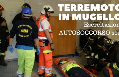 Terremoto in Mugello: esercitazione di Protezione civile