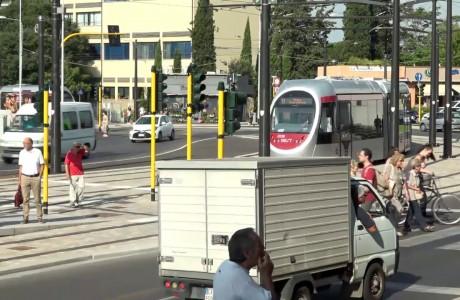 Tramvia, dal 15 settembre modifiche alla viabilità in piazza Dalmazia a Firenze