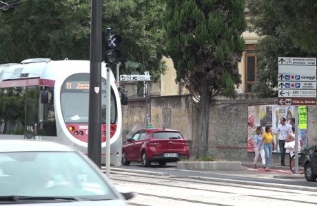 Tramvia Firenze, al via il riassetto della sosta sulla T1 Leonardo