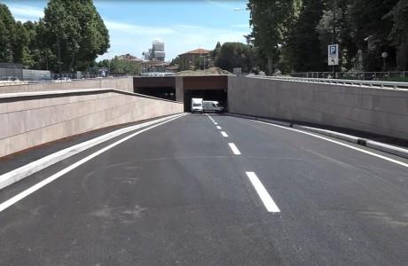 Tramvia Firenze, aperto al transito il sottopasso Strozzi-Strozzi
