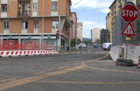 Tramvia Firenze, cambia la circolazione in via di Novoli
