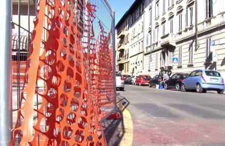 Tramvia Firenze, cantieri ottobre 2016