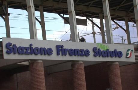 Tramvia Firenze, chiusura sottopasso di Statuto