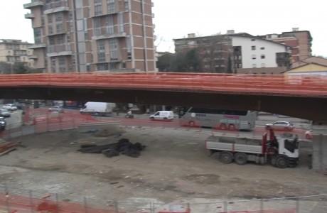 Tramvia Firenze, chiusure notturne per getti sul Viadotto San Donato
