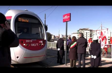 Tramvia Firenze, dedicato a Margherita Hack il ponte lungo la T2 Vespucci a Novoli