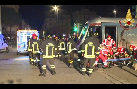 Tramvia Firenze, esercitazione di soccorso sulla linea 1