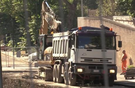 Tramvia Firenze, lavori di fine anno 2016