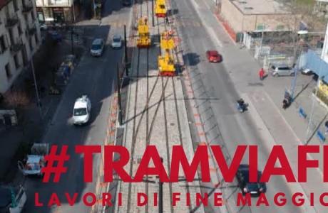 Tramvia Firenze, lavori di fine maggio