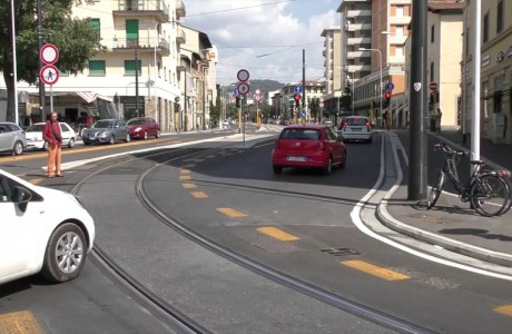 Tramvia Firenze, modifiche alla viabilità in piazza Dalmazia