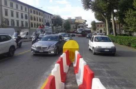 Tramvia Firenze, modifiche viabilità cantieri linee 2 e 3