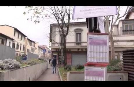 Tramvia Firenze, ribaltamento del cantiere in via Corridoni