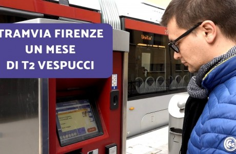 Tramvia Firenze, un mese di linea T2 Vespucci