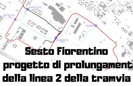 Tramvia: i progetti per il prolungamento della linea 2 fino a Sesto Fiorentino