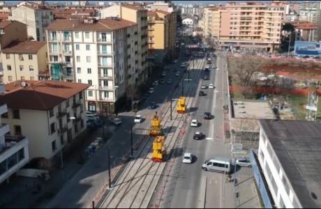 Tramvia, il 30 luglio riprendono i lavori della linea 2