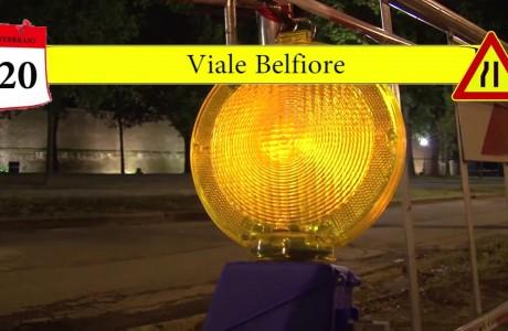 Tramvia, lavori notturni lungo i cantieri delle Linee 2 e 3