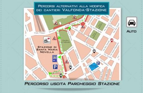 Tramvia – Modifiche alla circolazione privata in zona Stazione