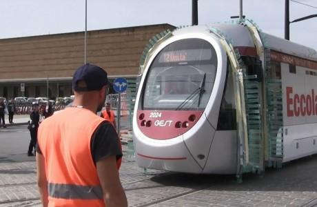 Tramvia, prove del tram tra Santa Maria Novella e Fortezza