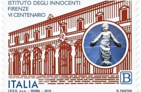 Un francobollo per i seicento anni dell'Istituto degli Innocenti