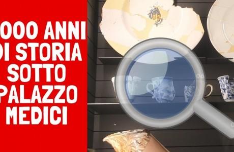 Un viaggio lungo oltre due millenni nei sotterranei di Palazzo Medici