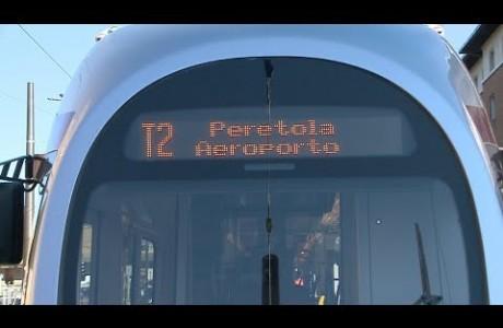 Viaggio di prova della linea 2, tramvia Firenze