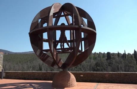 Vinci Leonardo 2019, l'Uomo Vitruviano di Mario Ceroli presto tornerà a splendere